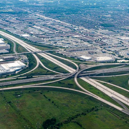 Highways 404 & 407