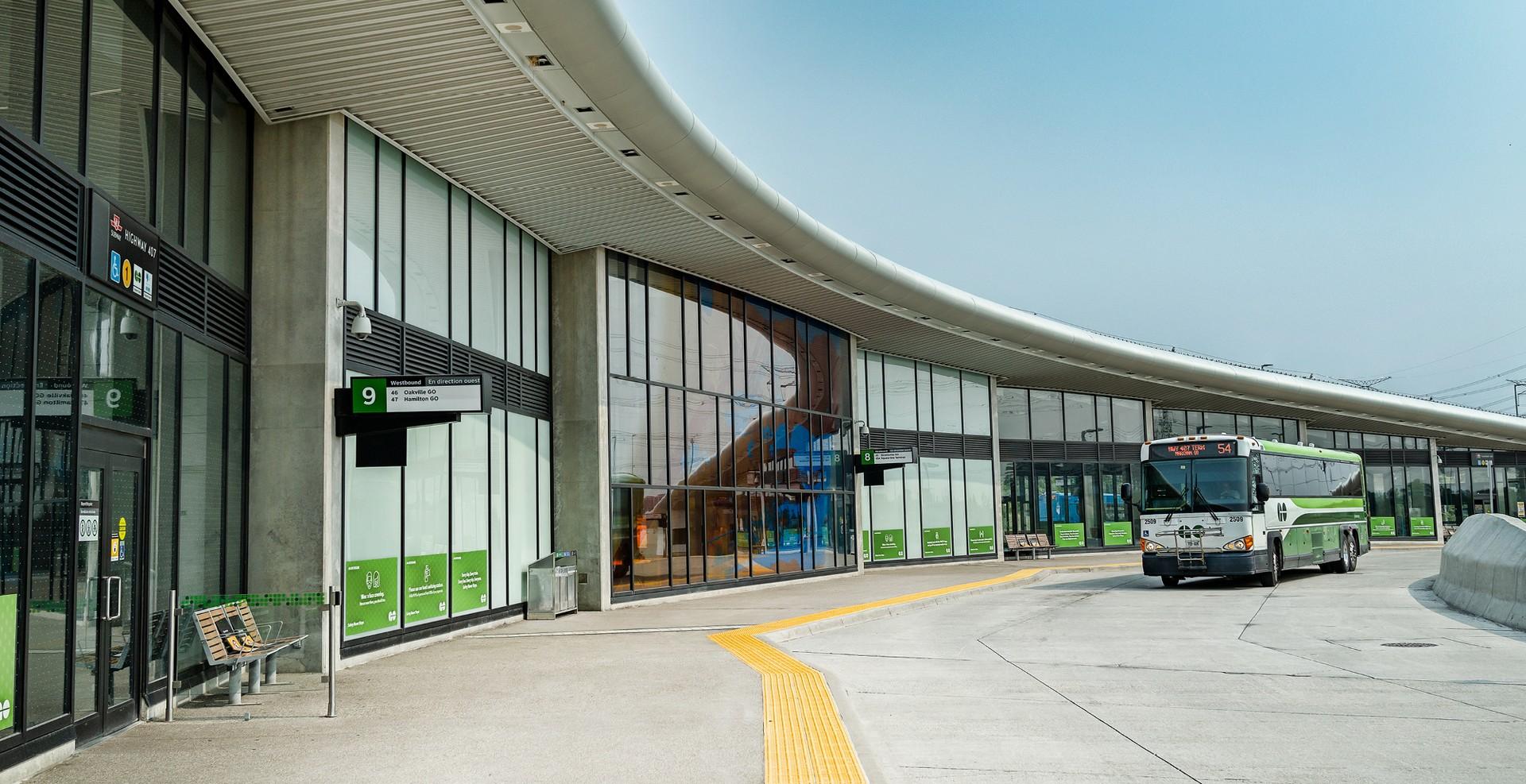 Highway 407 GO Station